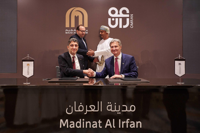 OMRAN and Majid Al Futtaim Partner to Develop Over OMR 5 Billion